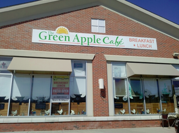 Green Apple Cafe  - Quintessential Orangeville!