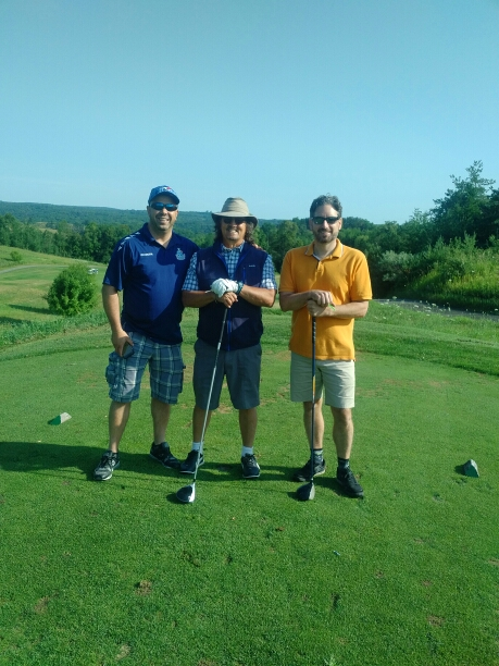 Bethel House Charity Golf! Mario, Ben & Kyle. We're just three of the approximate 120 set to att