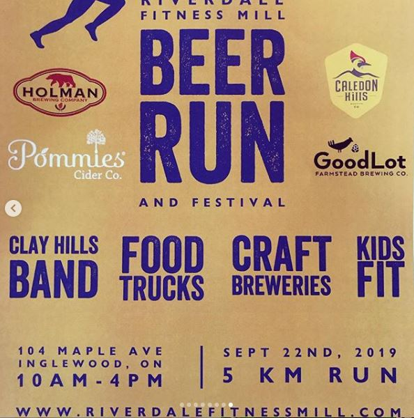 Riverdale Fitness Mill Beer Run and Festival!
