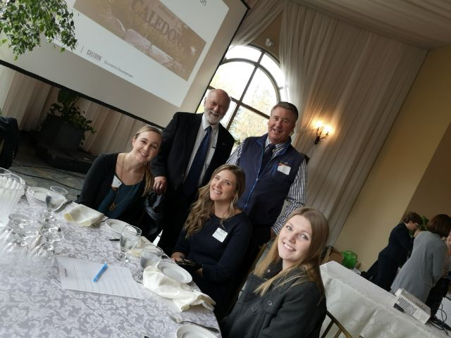 Accurate Appraisals chatted with Ian Sinclair at the Mayor's Business Luncheon!