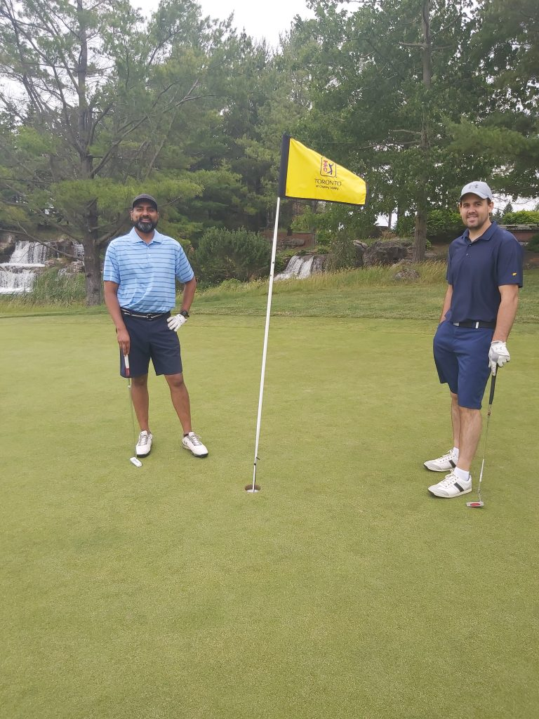 Experienced in appraisals, and on the golf course!